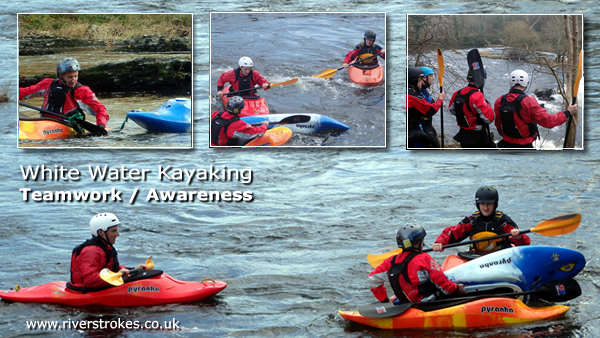 white water kayak safety
